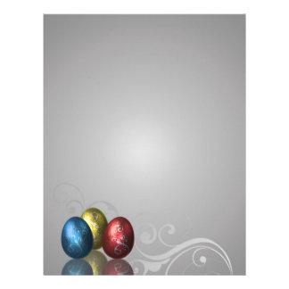 Glamour Easter Eggs - Stationery Letterhead