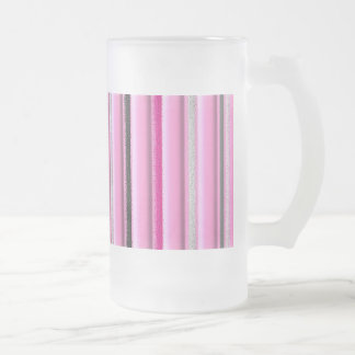 Glamour Frosted Glass Beer Mug