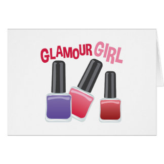 Glamour Girl Card