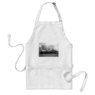 Glamour Girls & Classic Cars Vintage Photo Aprons
