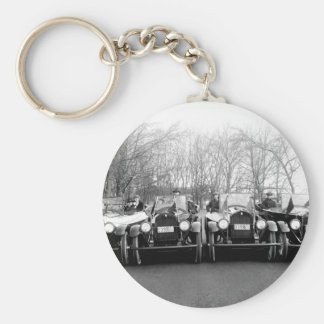 Glamour Girls & Classic Cars Vintage Photo Keychains