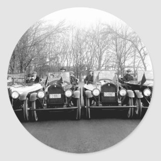 Glamour Girls & Classic Cars Vintage Photo Stickers