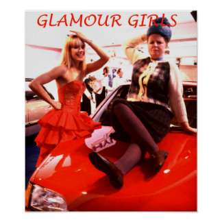 glamour girls poster
