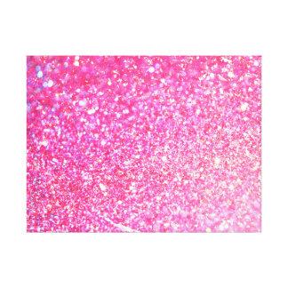 Glamour Glitter Shiny Canvas Print