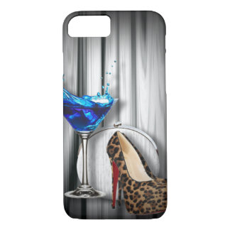 glamour martini cocktail party girl iPhone 7 case