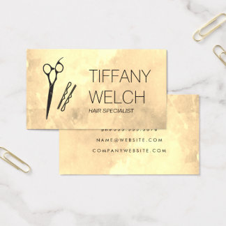 Glamour Stylist Business Card