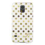 Glamourous Gold Polka Dot Samsung Galaxy S5 Case