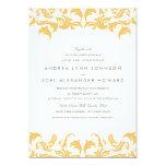 Glamourous Gold Wedding Invitation