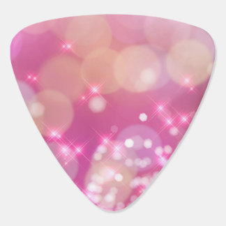 Glamourous Pink Sparkles - Guitar Pick
