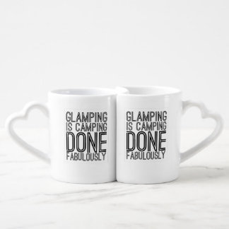 Glamper lovers mug set