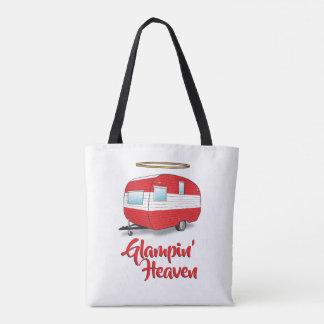 Glamping Heaven Retro Camper Tote Bag