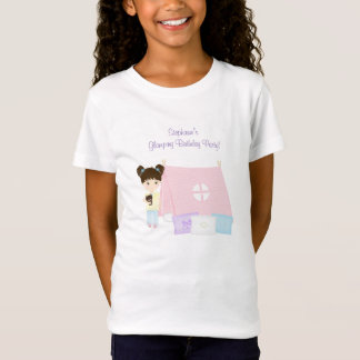 Glamping Sleepover Party T-Shirt