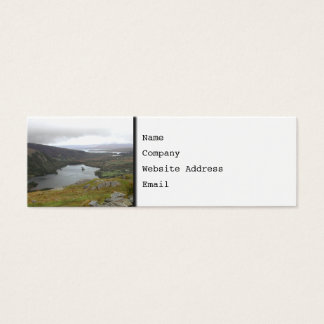 Glanmore Lake from Healy Pass Ireland. Mini Business Card