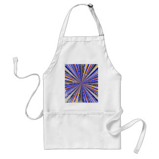 Glare Rays Background Standard Apron