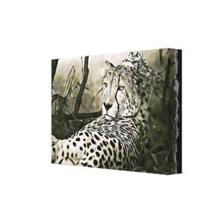 Glaring Cheetah  Digital Wall Art