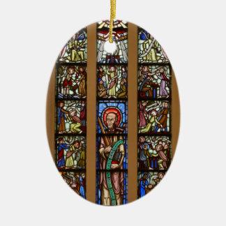 Glas-mosaik church ceramic ornament