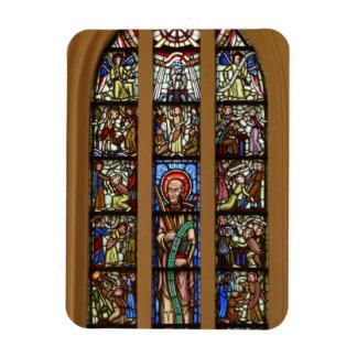 Glas-mosaik church magnet