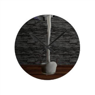 Glas of Milk Wall Clock