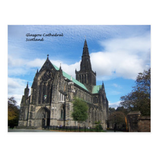 GLASGOW CATHDRAL - Scotland Postcard