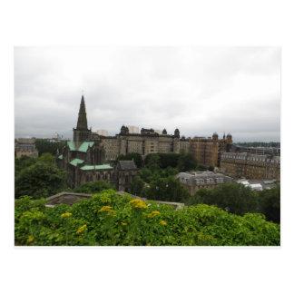 Glasgow Cathedral Skyline Postcard