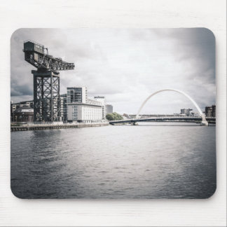 Glasgow Clyde and Crane Mousepad
