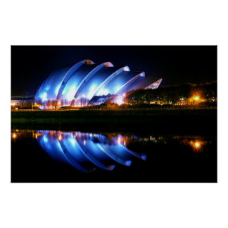 Glasgow Clyde Auditorium Poster