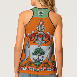 Glasgow Coat of Arms Crest Tank Top