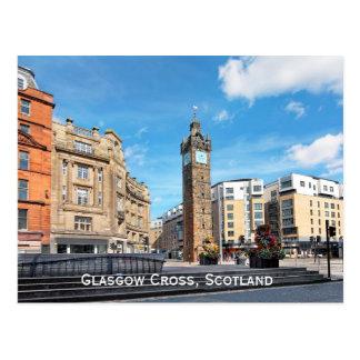 Glasgow Cross, Scotland Postcard