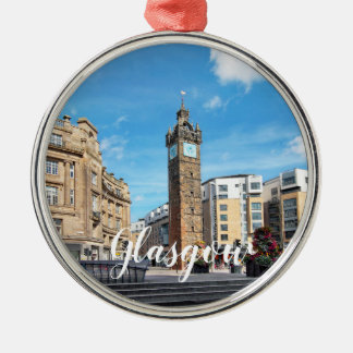Glasgow  Customize Product Metal Ornament