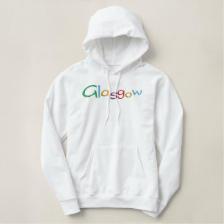 Glasgow Embroidered Hoodie