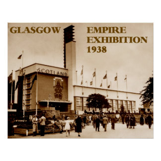 glasgow empire exhibition 1938 poster