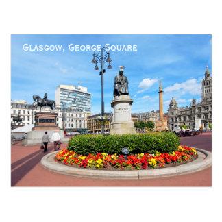 Glasgow, George Square, Scotland Postcard