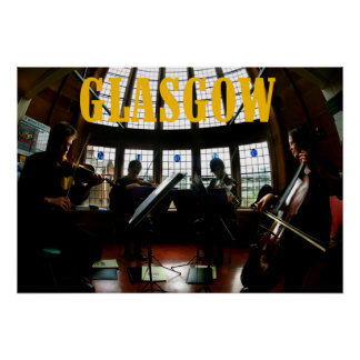 glasgow musicians poster