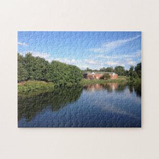 Glasgow River Park Jigsaw Puzzle