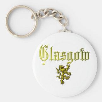 Glasgow Scotland Keychain