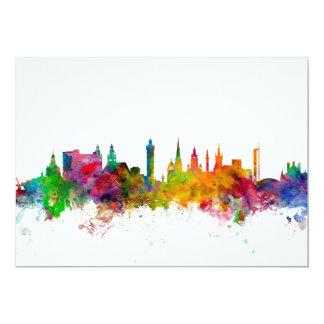Glasgow Scotland Skyline Card