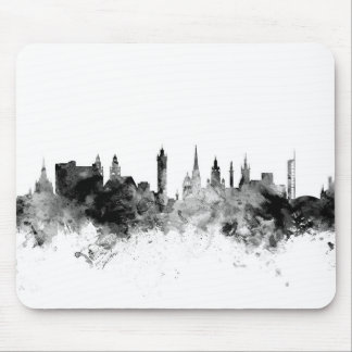 Glasgow Scotland Skyline Mouse Pad