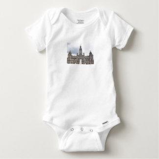 Glasgow Town Hall Baby Onesie