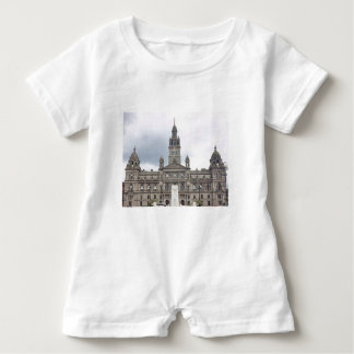 Glasgow Town Hall Baby Romper
