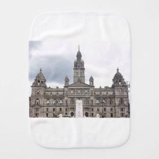 Glasgow Town Hall Burp Cloth
