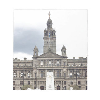 Glasgow Town Hall Notepad
