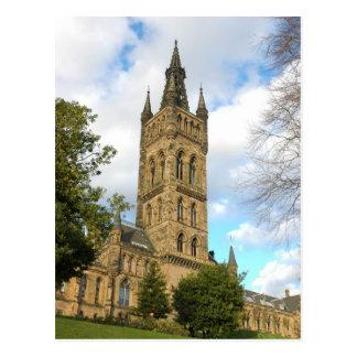 Glasgow University Postcard