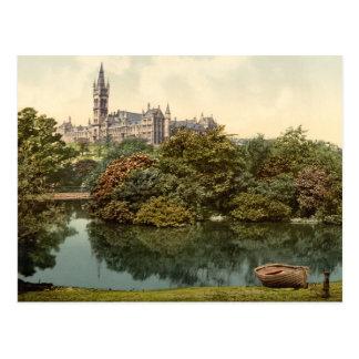 Glasgow University, Scotland Postcard