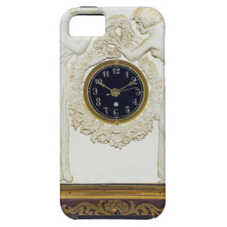 Glass Art Deco clock. Case For The iPhone 5