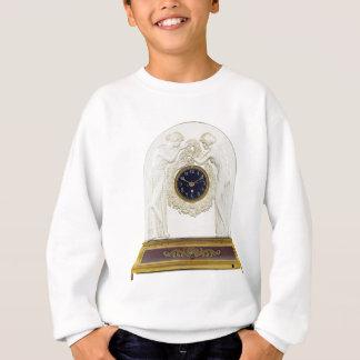 Glass Art Deco clock. Sweatshirt