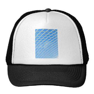 Glass background trucker hat