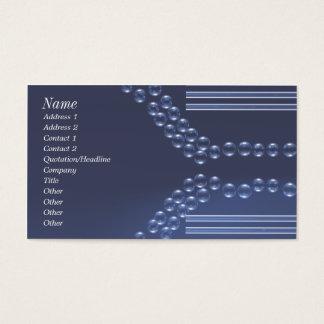 Glass Beads - Business Business Card