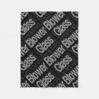 Glass Blower Extraordinaire Fleece Blanket