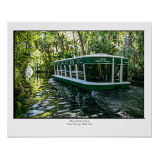 Glass Bottom Boat Poster