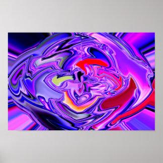 glass brain poster